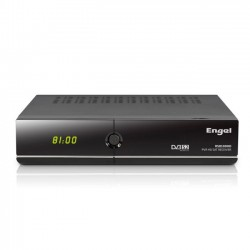 Engel Axil - RS8100HD Satélite Alta Definición Total Negro tV set-top boxes
