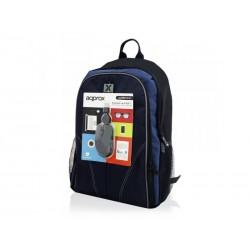 "Approx - NBBUNDLE4 maletines para portátil 39,6 cm (15.6"") Funda tipo mochila Negro, Azul"