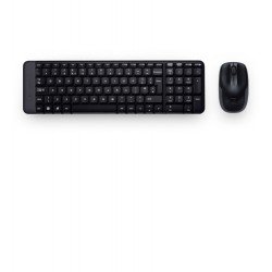 Logitech - MK220 RF Wireless Spanish Black