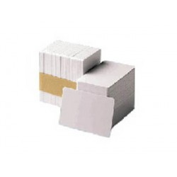 Zebra - Premier PVC Card, 30 mil Low Coercivity Mag. Stripe (5 packs x 100)