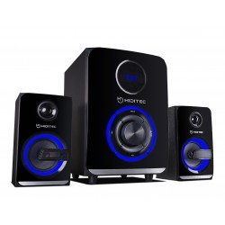 Hiditec - H500 2.1channels 50W Negro conjunto de altavoces
