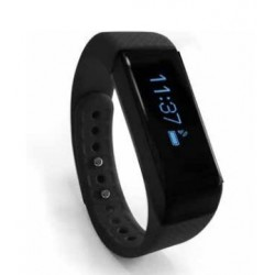 "Nilox - ERNEST THE FIT TRACKER Wristband activity tracker 0.91"" OLED Alámbrico/Inalámbrico Negro"