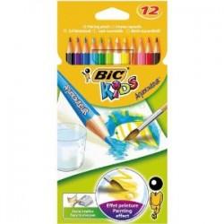 BIC - Aquacouleurs 12pieza(s) laápiz de color