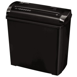 Fellowes - P-25S Strip shredding Negro, Gris triturador de papel - 20047885