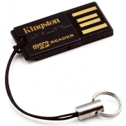 Kingston Technology - FCR-MRG2 USB 2.0 Negro lector de tarjeta