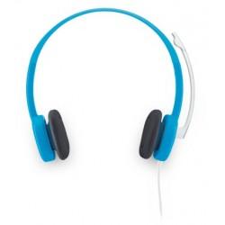 Logitech - H150 2x 3.5 mm Binaurale Diadema Azul auricular con micrófono