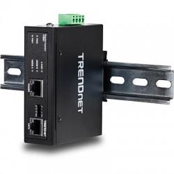 Trendnet - TI-IG60 adaptador e inyector de PoE Ethernet rápido, Gigabit Ethernet