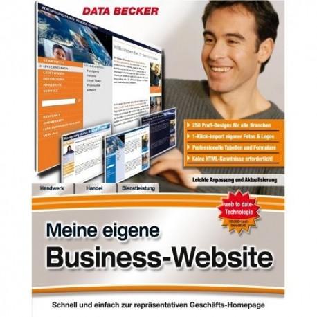 Meine Eigene Website data becker meine eigene business website aga system slu