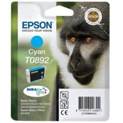 Epson - Monkey Cartucho T0892 cian (etiqueta RF)
