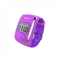 "Nilox - Bodyguard 1"" LCD Púrpura reloj inteligente"