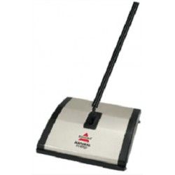 Bissell - Natural Sweep Negro, Plata escoba