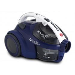 Hoover - SE71 SE61 700 W Aspiradora cilíndrica 1,5 L Antracita, Azul, Blanco