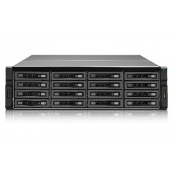 QNAP - REXP-1620U-RP unidad de disco multiple Bastidor (3U) Negro