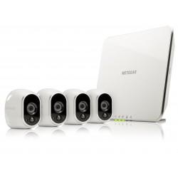 Netgear - Arlo Cámara de seguridad IP Interior y exterior Cubo Blanco 1280 x 720 Pixeles