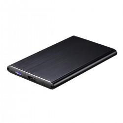 "TooQ - TQE-2529B caja para disco duro externo 2.5"" Carcasa de disco duro/SSD Negro"