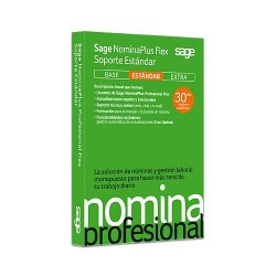 Sage Software - NominaPlus Profesional Flex - 20459005