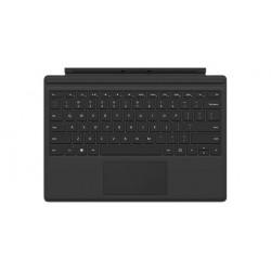 Microsoft - Surface Pro 4 Type Cover Microsoft Cover port QWERTY Español Negro teclado para móvil