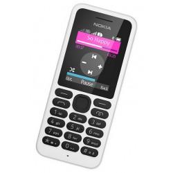 """Nokia - 130 Dual SIM 1.8"""" 67.9g Color blanco Característica del teléfono"""
