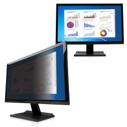 "V7 - PS20.0WA92-2E filtro para monitor Filtro de privacidad para pantallas sin marco 50,8 cm (20"")"