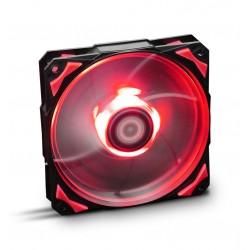 NOX - H-Fan LED Carcasa del ordenador Ventilador - NXHUMMERF120LR