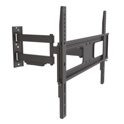 TooQ - SOPORTE GIRATORIO E INCLINABLE PARA MONITOR / TV LCD, PLASMA DE 37-70, NEGRO - 16769055