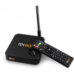 TenGO - RT3123BT Full HD 8GB Wifi Ethernet Negro caja de Smart TV