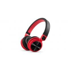 Energy Sistem - DJ2 Auriculares Diadema Negro, Rojo