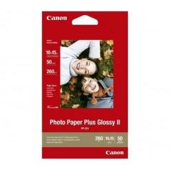 Canon - PP-201 De alto brillo Rojo papel fotográfico