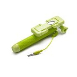 Celly - MINISELFIEGN palo para autofotos Smartphone Verde