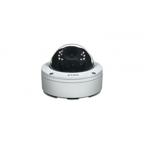 D-Link - DCS-6517 IP Exterior Dome Color blanco cmara de vigilancia
