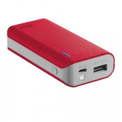 Trust - Primo 4400 batería externa Rojo 4400 mAh