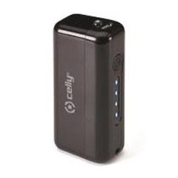 Celly - PB2200FLUOBK Ión de litio 2200mAh Negro batería externa