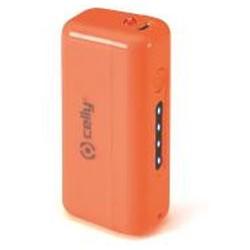 Celly - PB2200FLUOOR Ión de litio 2200mAh Naranja batería externa
