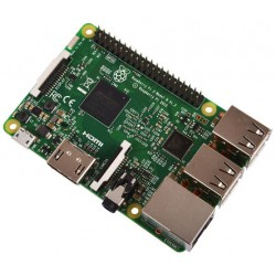Raspberry Pi - 3 Model B placa de desarrollo 1200 MHz