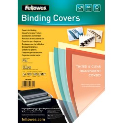 Fellowes - 5375901 cubierta A4 De plástico, PVC Transparente 100 pieza(s)