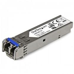 StarTech.com - Módulo Transceptor SFP+ de Fibra Gigabit - Compatible con HP J4858C - Monomodo LC con DDM - 550m