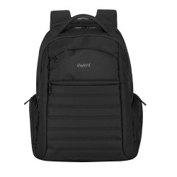 "Ewent - Urban maletines para portátil 43,9 cm (17.3"") Funda tipo mochila Negro"