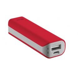 Trust - Primo 2200 2200mAh Rojo batería externa