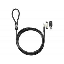 HP - Bloqueo de cable con llave de 10 mm