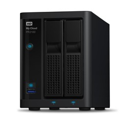Western Digital - My Cloud PR2100 Ethernet Desktop Black NAS