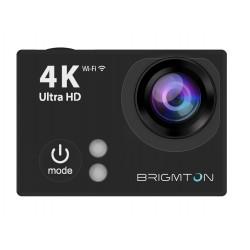 Brigmton - BSC-9HD4K 12MP 4K Ultra HD Wifi 64g cámara para deporte de acción