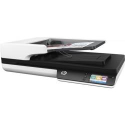 HP - Scanjet Pro 4500 fn1 1200 x 1200 DPI Escáner de superficie plana y alimentador automático de documentos (ADF) Gris A4