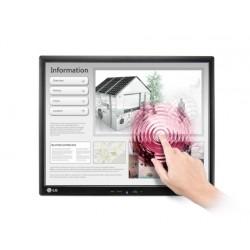 """LG - 19MB15T 19"""" 1280 x 1024Pixeles Multi-touch Mesa Negro monitor pantalla táctil"""