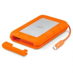 LaCie - Rugged Thunderbolt 2000GB Naranja disco duro externo