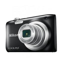 "Nikon - COOLPIX A100, Case, Selfie stick Cámara compacta 20,1 MP CCD 5152 x 3864 Pixeles 1/2.3"" Negro"