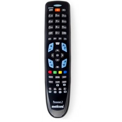 Meliconi - Gumbody Personal 2 mando a distancia IR inalámbrico TV Botones