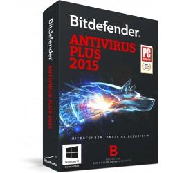 Bitdefender - Antivirus Plus 2015, 10 PCs, 2Y 2año(s)