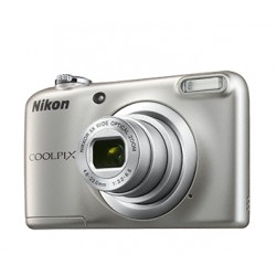 "Nikon - COOLPIX A10 + Case Cámara compacta 16,1 MP CCD 4608 x 3456 Pixeles 1/2.3"" Plata"