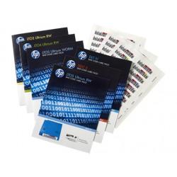 Hewlett Packard Enterprise - Q2014A etiqueta para sistemas de almacenaje Etiqueta autoadhesiva 100 pieza(s)