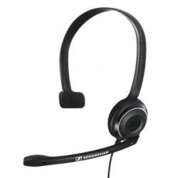 Sennheiser - PC 7 USB Monoaural Diadema Negro auricular con micrófono
